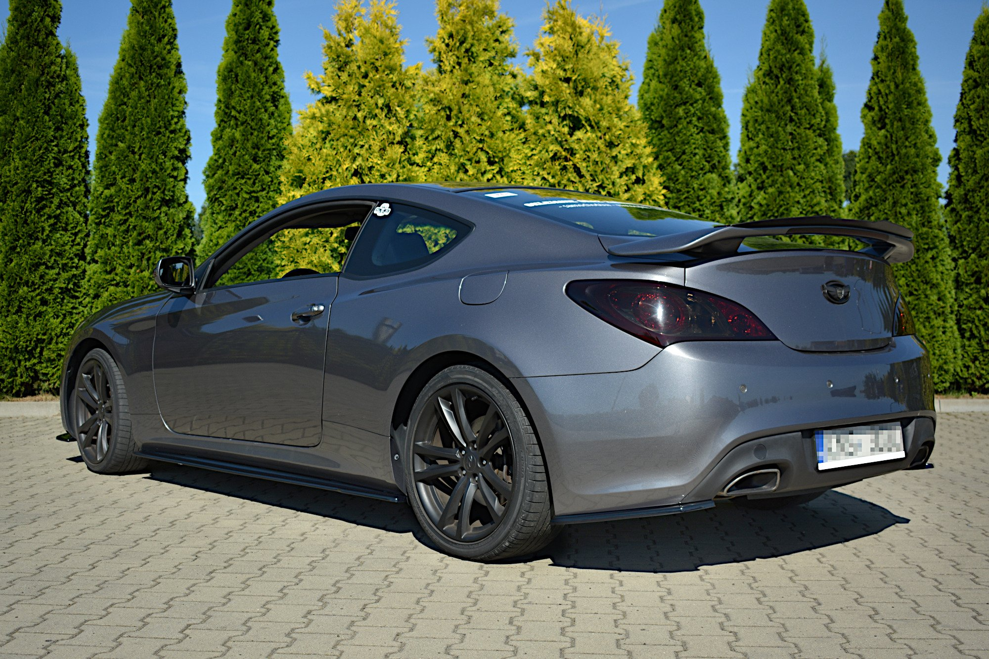 Side Skirts Diffusers Hyundai Genesis Coupe Mk 1 Textured