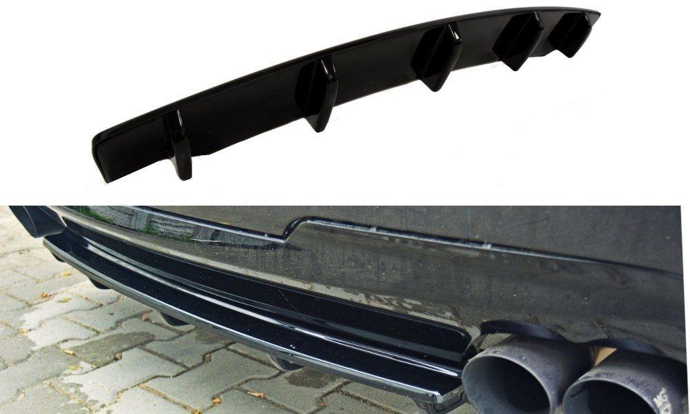 Splitter Tylny środkowy Bmw 5 F11 M Pack 2 Podwójne Końcówki